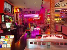 corvette restaurant san diego vibrant bar area picture of corvette diner san diego tripadvisor