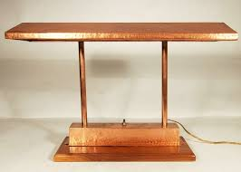 Mission Furniture Desk Office Furniture Mission Craftsman Style Desk Vintage Polished