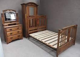 edwardian bedroom furniture for sale solid oak edwardian arts crafts 3 piece bedroom suite