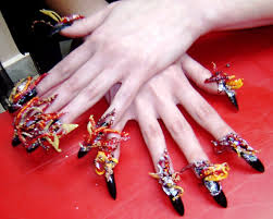 3d nail art nail art designs easy 3d crazy wedding nail art