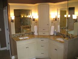 bathroom small corner vanities on intended for with regard to