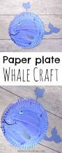 paper plate craft for preschoolers this whale is made from a