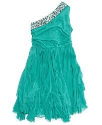ruby rox girls u0027 one shoulder dress kids girls 7 16 macy u0027s