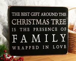 the best gift around the tree is the presence of family