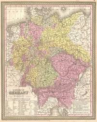 map germay a new map of germany geographicus antique maps