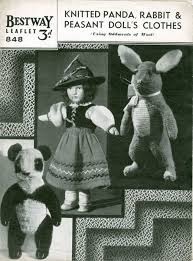 73 best vintage knitted toys images on vintage