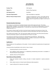 Machinist Resume Template Cnc Machinist Resume Sles 100 Images Narrative Essay About
