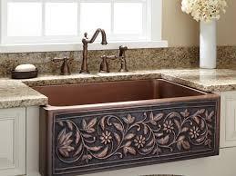 sink u0026 faucet wonderful copper kitchen faucet copper kitchen
