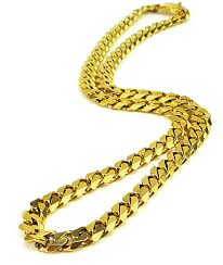 link necklace images The gold gods flat edge 30 quot cuban link necklace zumiez jpg