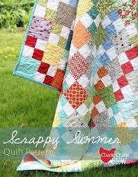 scrappy summer tutorial cluck cluck sew
