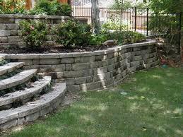retaining garden wall ideas dissland info