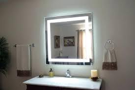 Bathroom Lights Mirror Mirror With Lights Around Wall Mirrors Vanity Mirror With Light