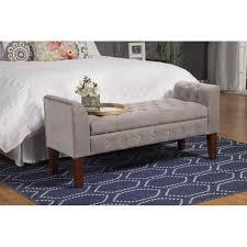 White Storage Bench For Bedroom Storage Benches For Bedroom Samzu Info