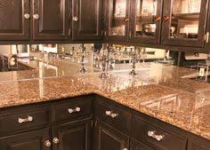 mirror backsplash in kitchen beautiful affordable backsplashes made with simple sheet materials