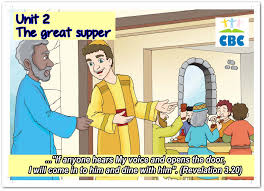 the parable of the great supper for kids