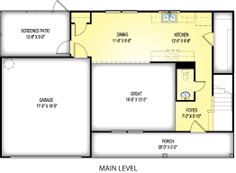 barnwell great southern homes the barnwell floor plan