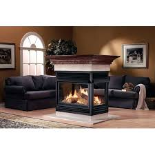 articles with two sided gas fireplace cost tag romantic dual