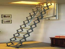 foldable stairs amazing folding attic stairs cool stuff