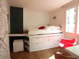 chambre gain de place lit pour studio gain de place mezzanine places ides chambre adulte