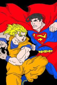 ssj goku superman colour parker 13 deviantart