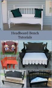 How To Make An Armchair How To Make A Bench Out Of 2 Old Chairs Repurposed Furniture