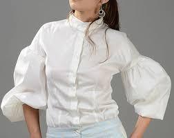white shirt etsy