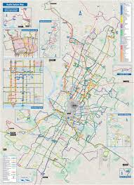Metro Bus Routes Map by Austin Bus Map
