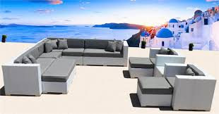 Outdoor Patio Furniture Las Vegas Eurolounger Outdoor Wicker Sectional Sofa Patio Furniture
