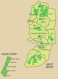 Middle East Map Capitals by This Map Shows The Area And Major Cities Within The Palestinian