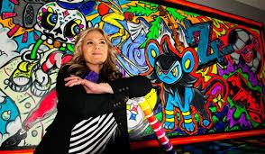 a muralist u0027s guide to creating vivid neon graffiti rosco spectrum