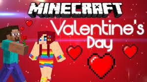 minecraft valentines minecraft s day steve s