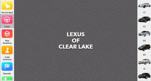 lexus clear lake lexus of clear lake android apps on play
