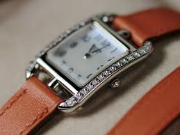 hermes watch white gold with diamonds cape cod from legend of