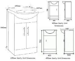 Vanity Dimensions Standard Bathroom Bathroom Cabinet Dimensions On Bathroom For Vanity