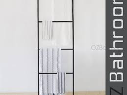 53 Leaning Towel Ladder 5 Tier Wall Leaning Ladder Towel Rails
