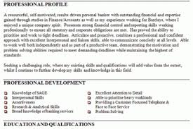 Resume Personal Statement Example by Resume Focus Statements Reentrycorps
