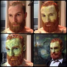 Halloween Costumes Twins Win Huffpost Insanely Detailed Van Gogh Costume Wins Halloween Huffpost