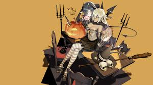 halloween background 1920x1080 anime halloween hd wallpaper 1920x1080 id 59625