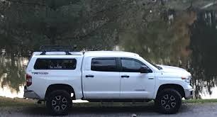 Toyota Tacoma Double Cab Roof Rack by What Length Roof Rack Crossbars On A Cap Toyota Tundra Forum