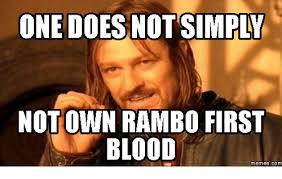 Rambo Meme - not own rambo first blood memes com rambo meme on me me
