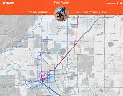 Commute Map How Getting Rid Of My Car Made Me An Ironman U2013 Articulate Discontent