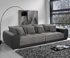 big sofa schwarz home affaire big sofa breite 302 cm big sofas living rooms and