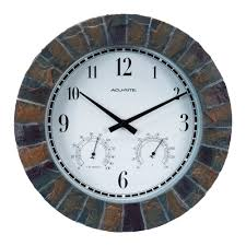 outdoor clocks outdoor decor the home depot