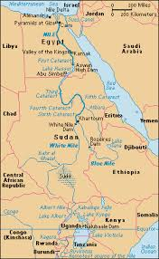 nile river on map characteristics and geographical features of the nile river