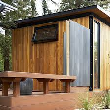 modern awesome design of the metal building barn house that has