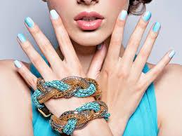 the latest shellac nail designs