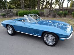 1964 corvette stingray value sold 1967 chevrolet corvette convertible marina blue 300hp 4