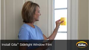 install gila sidelight window film youtube