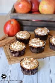 apple crumble pie cupcakes hoosier