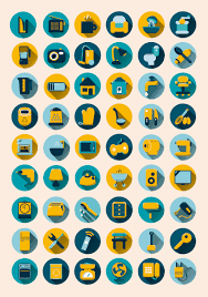 home necessities preview 54 home furnishing necessities icon vector